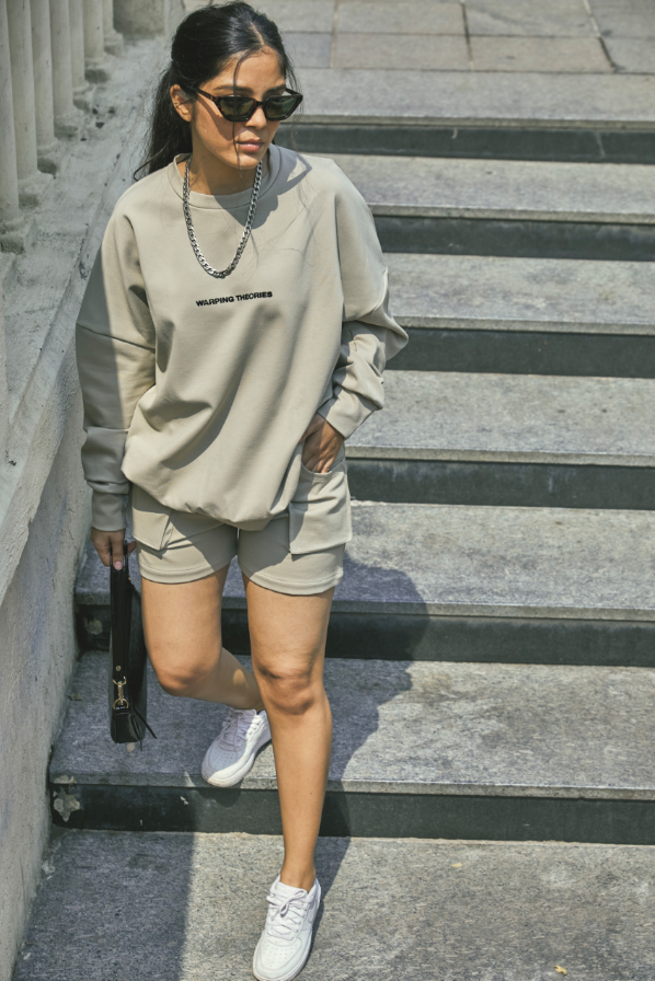 WT Sweatshirt Nutmeg cream