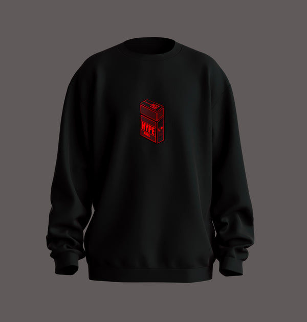 Black Red Hype-Kills Sweatshirt