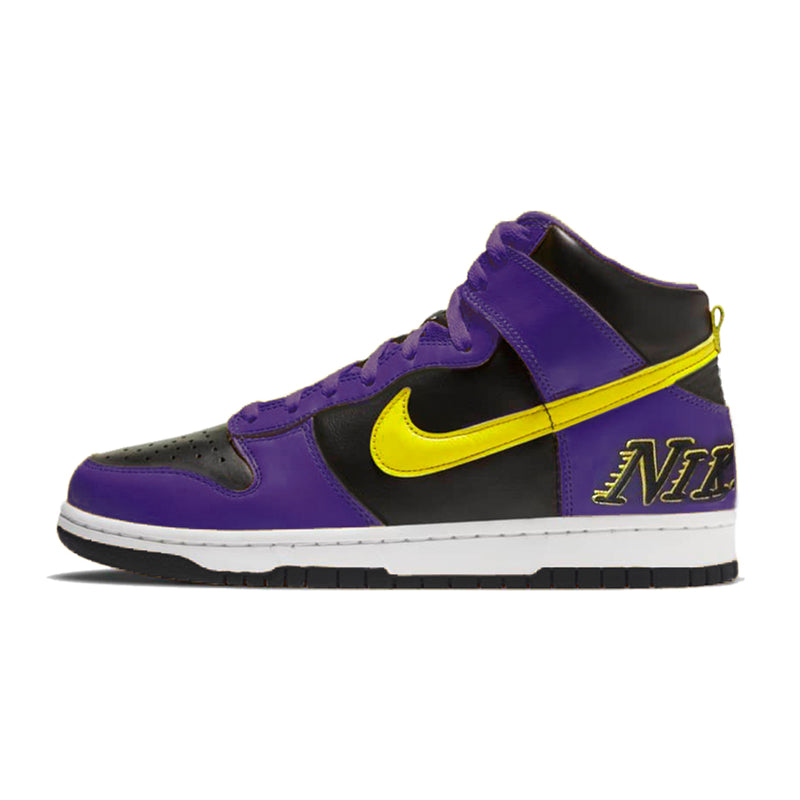 Nike Dunk High Lakers Edition