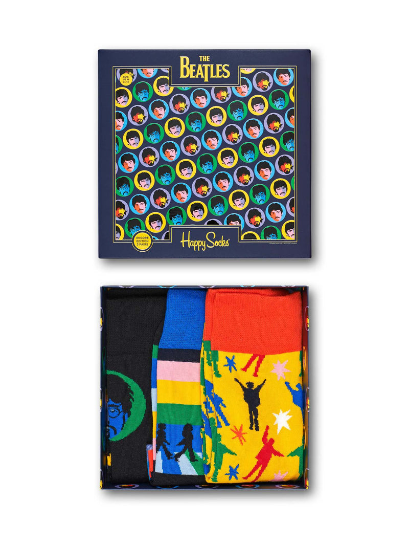 Happy Socks Beatles Gift Box 3 pack