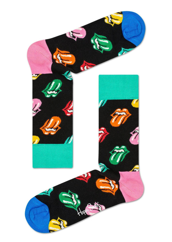 Happy Socks Rolling Stones Paint It Bright Sock