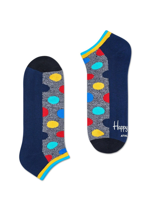 Happy Socks Athletic Big Dot Low Sock