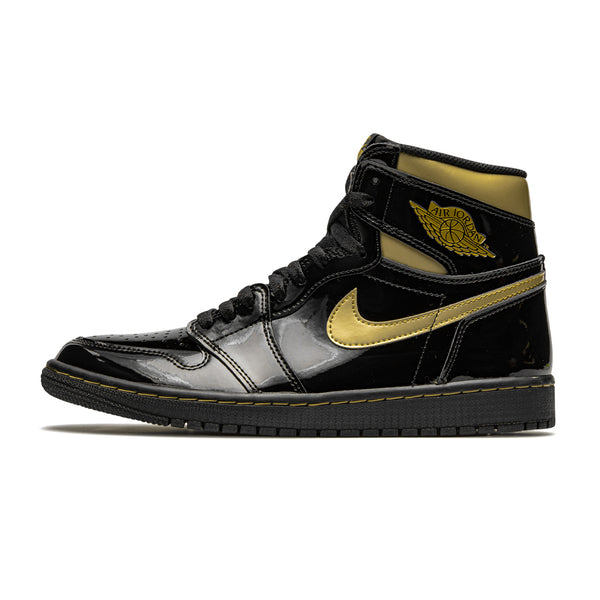 Jordan 1 Retro High Black Metallic Gold (2020)