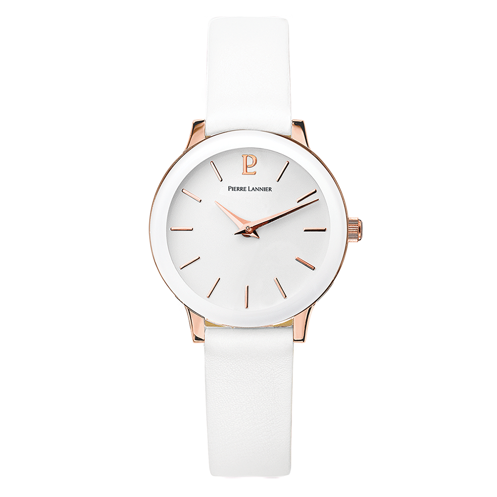 Pierre Lannier White/Rose Gold