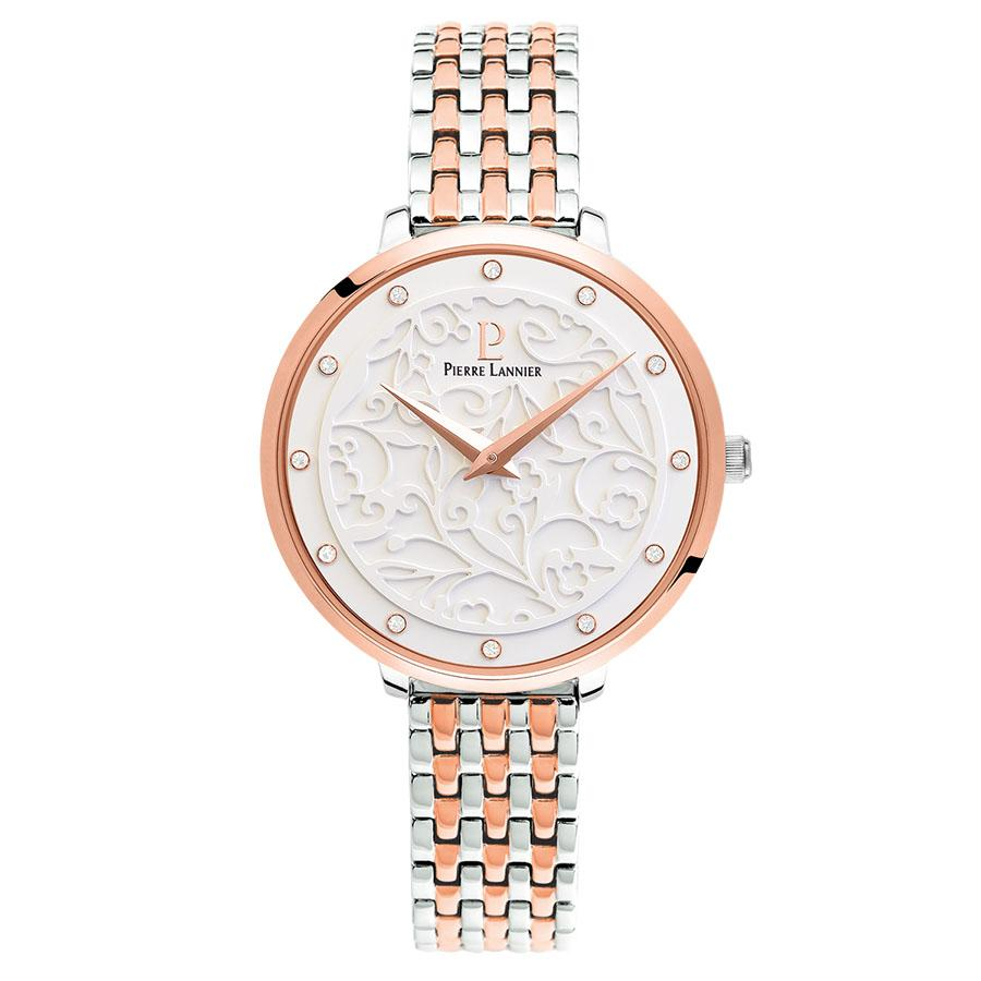 Pierre Lannier Eolia Rose Gold/White