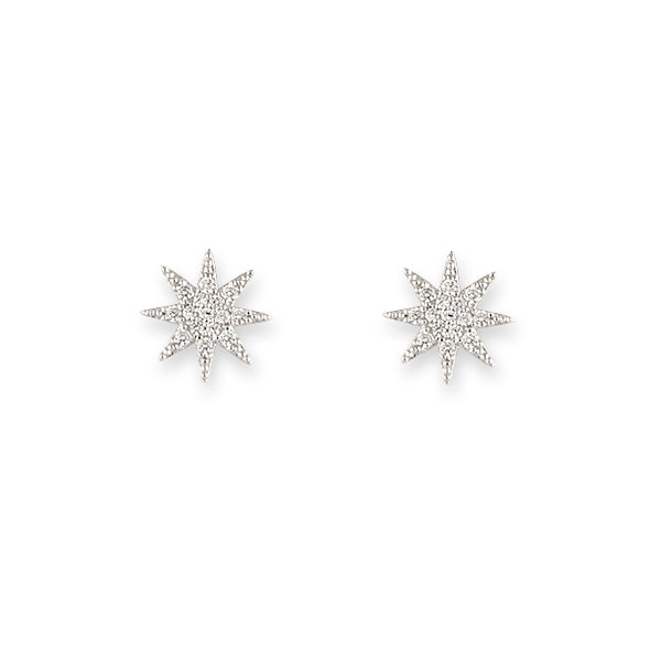 BIANC Silver Twinkle Earrings