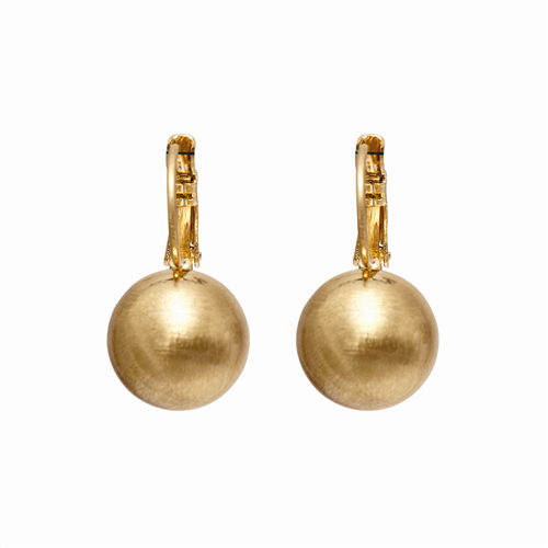 DANSK Tihomira Ball Earrings Gold