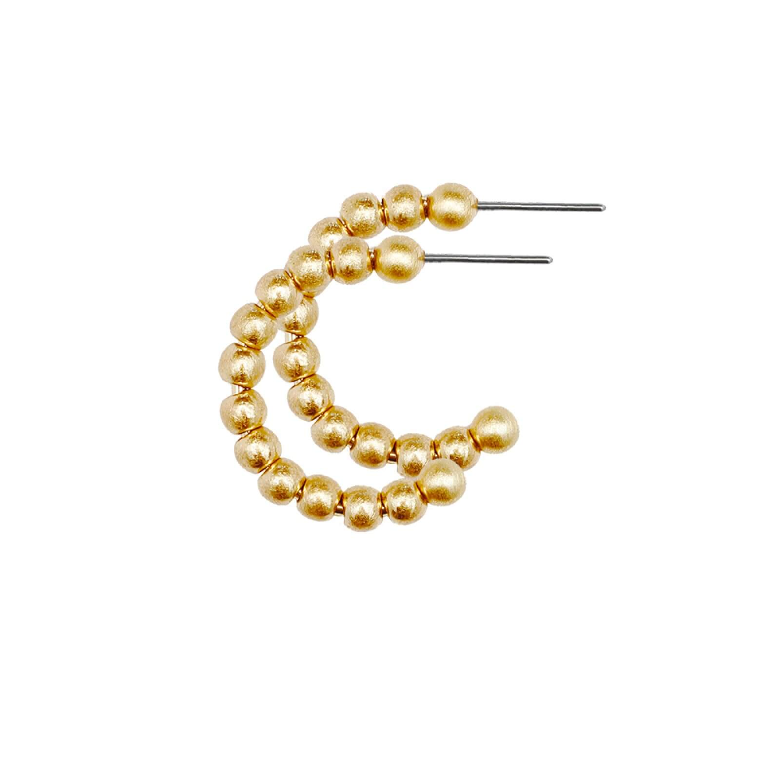 DANSK Tabitha Small Hoop Earrings Gold