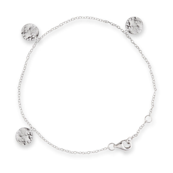 BIANC Silver Scattered Jingle Bracelet