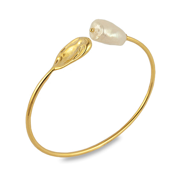 BIANC Gold Atlantic Bangle