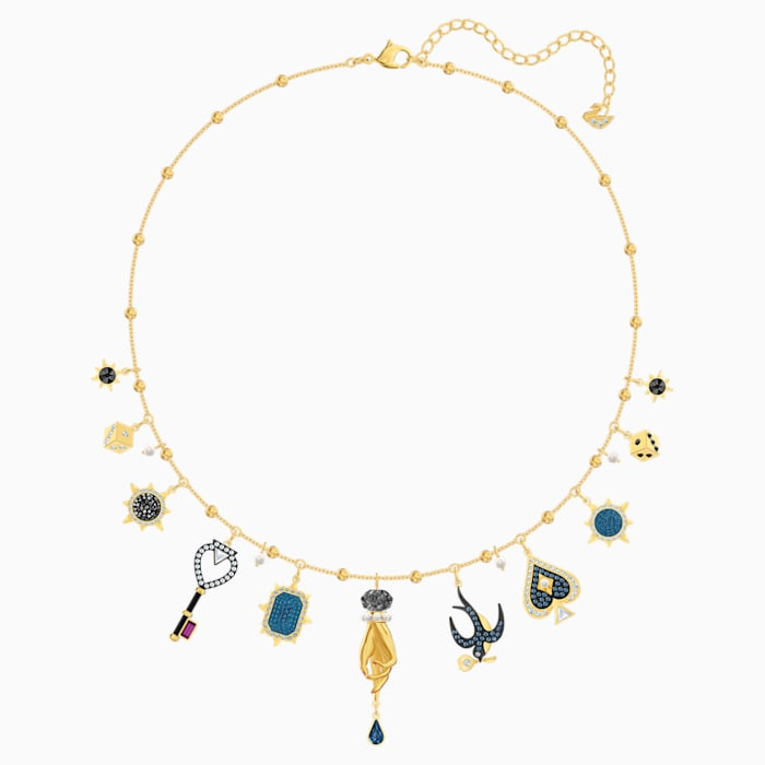 SWAROVSKI Tarot Magic Necklace, Multi-coloured, Gold-tone plated