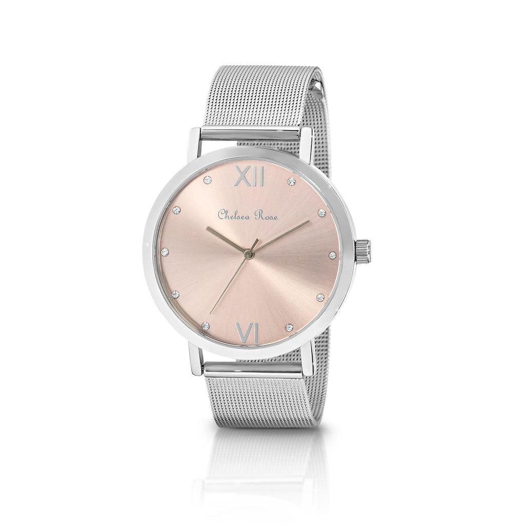 CHELSEA ROSE Mesh Watch