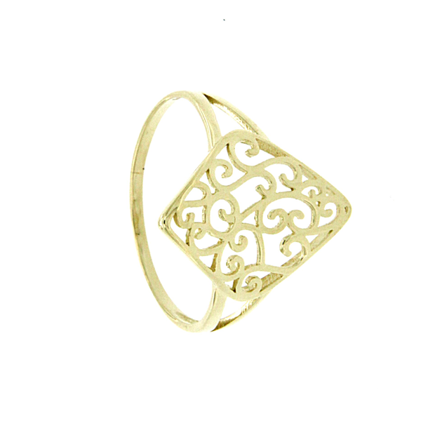 9ct Filigree ring