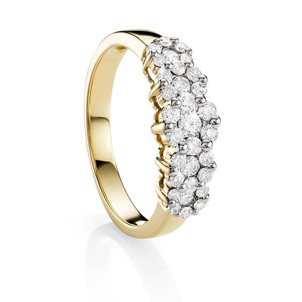 9ct Gold 0.50ct Diamond Ring