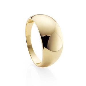 9ct Gold Dome Ring