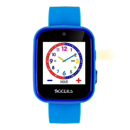 TIKKERS Interactive Blue Smart Watch for Kids