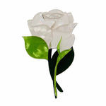 Budding Romance Rose Brooch