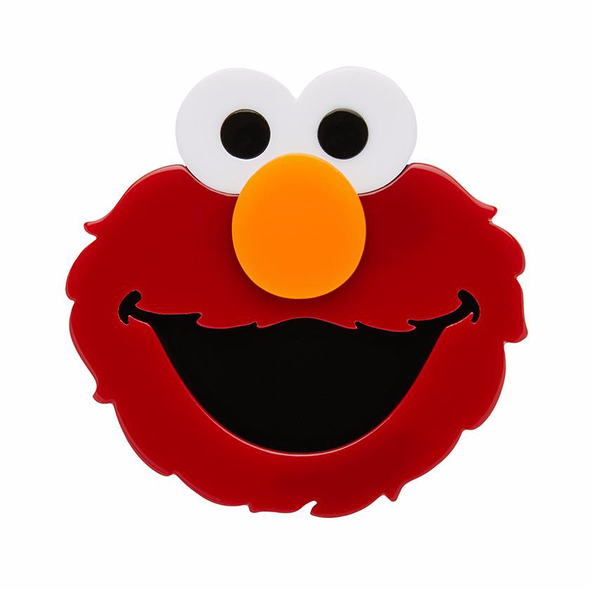 Elmo Brooch