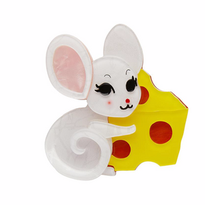 Not Even a Mouse Brooch
