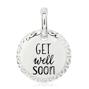 CANDID SS 12mm engraved scroll frame 'get well soon'