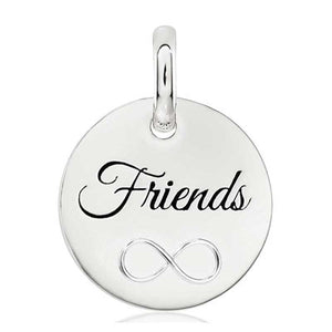 CANDID SS 18mm round infinity 'Friends'