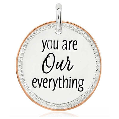 CANDID SS 2TR 25mm round milled frame 'you are our everything'
