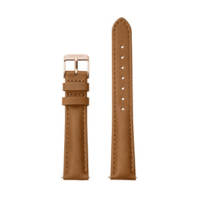 CLUSE 16mm Caramel/Rose Gold Strap