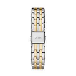 CLUSE 16mm Strap Gold/Silver Link