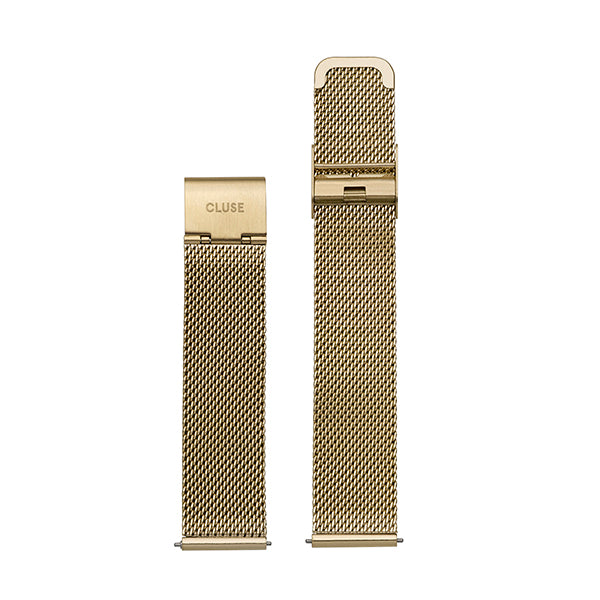 CLUSE 16mm Strap Mesh Gold