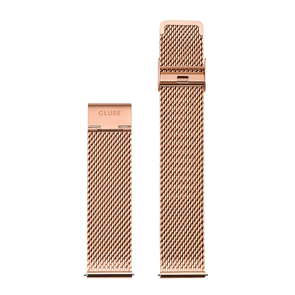 CLUSE Strap 20mm Mesh Rose Gold