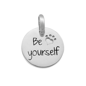 Candid 'Be Yourself' Pendant