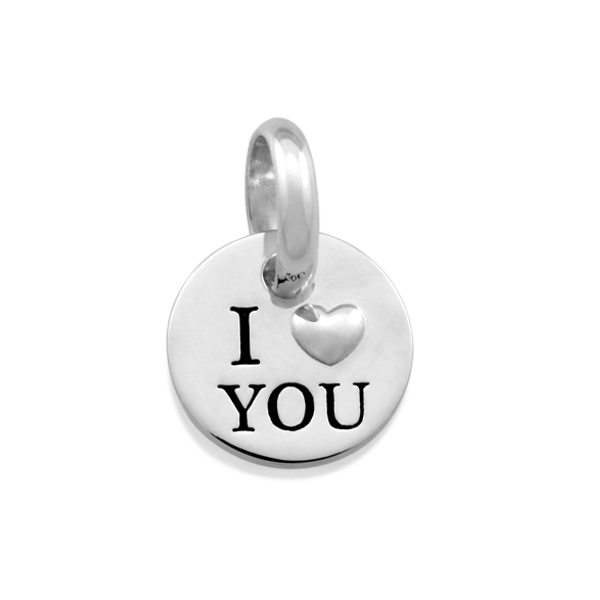 Candid 'I Love You' Pendant