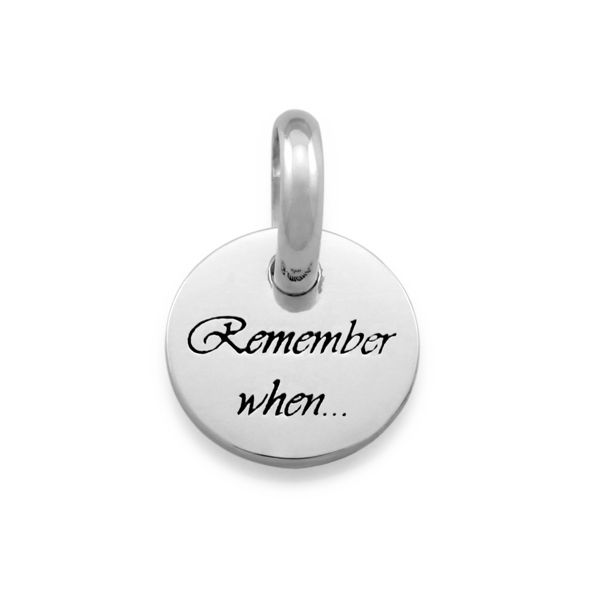 Candid 'Remember When' Pendant