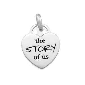 Candid 'The Story Of Us' Pendant