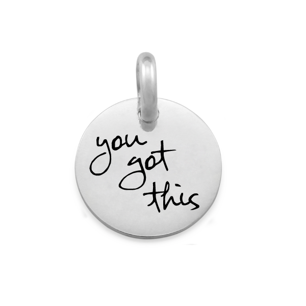 Candid 'You Got This' Pendant