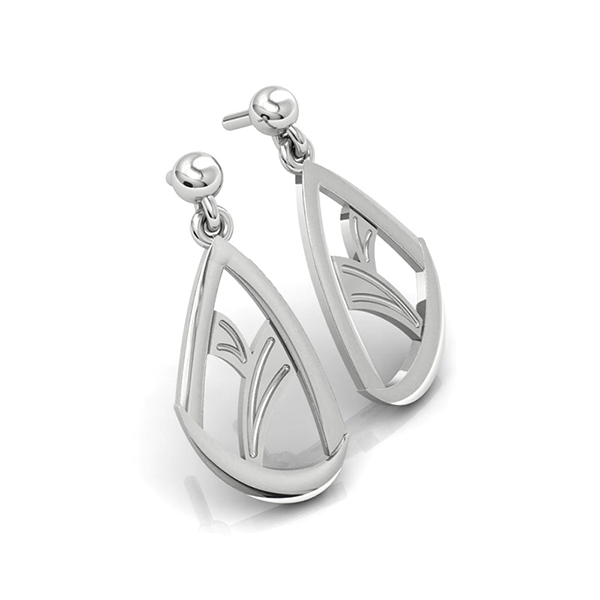 Elegance & Joy Flutter Small Drop Earrings