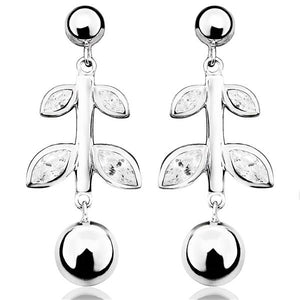 Elegance and Joy Thrive Drop Earrings