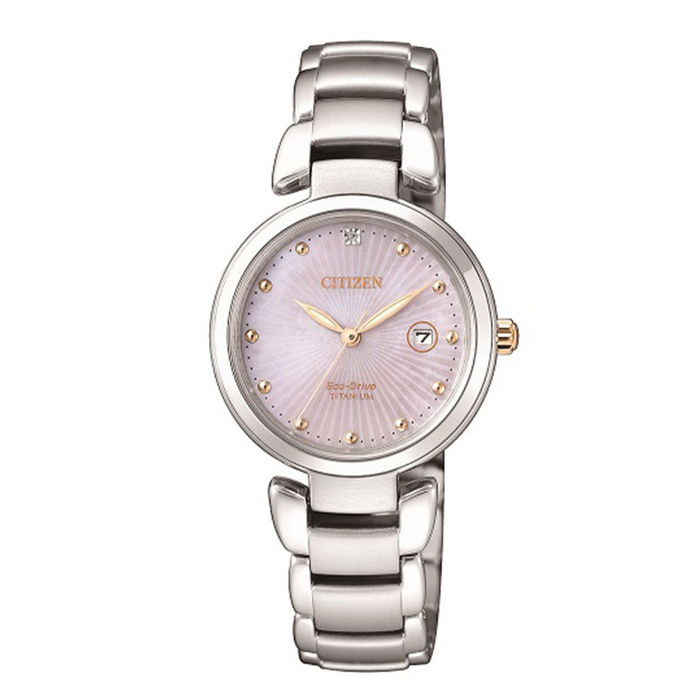 CITIZEN Ladies Eco-Drive Titanium watch