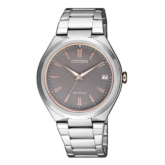 CITIZEN Ladies Eco-Drive Silver Watch