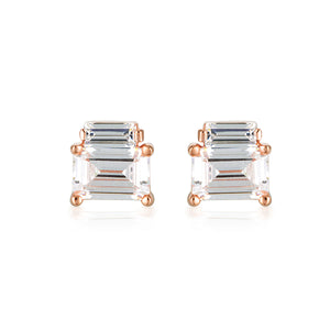 GEORGINI Emilio Rose Gold Earrings