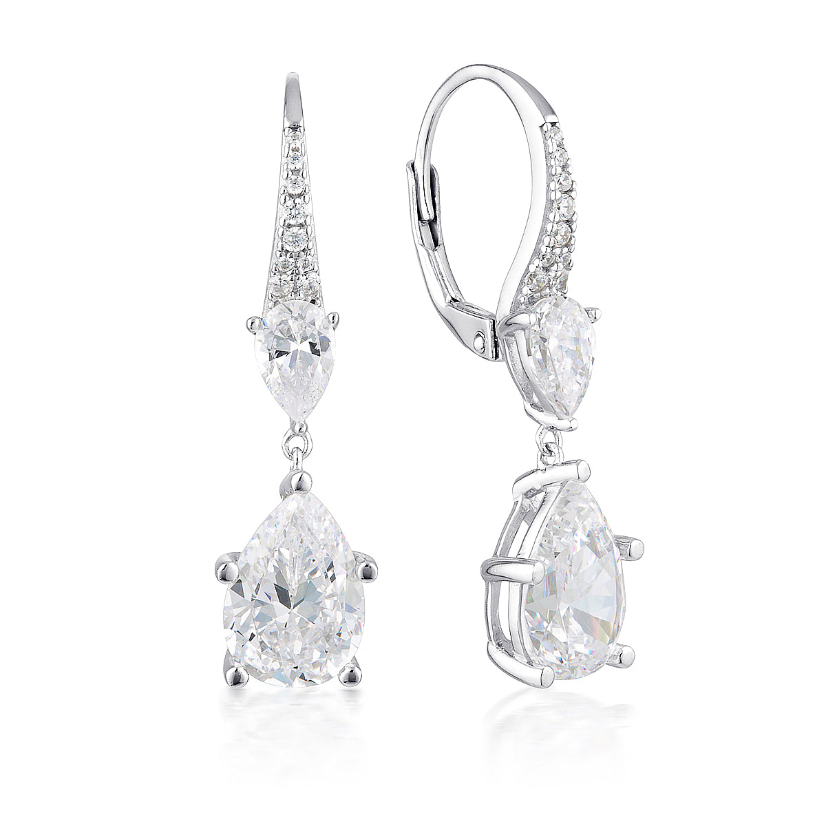GEORGINI SS CZ Josephine Earrings