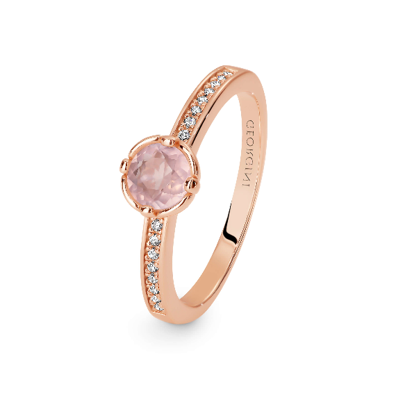GEORGINI Crux Rose Gold Ring