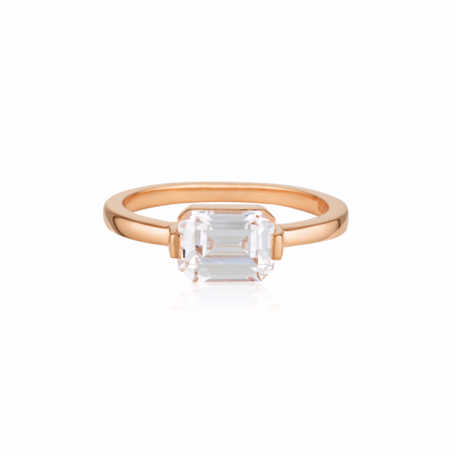 GEORGINI Emilio Rose Gold Ring