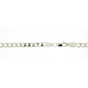 Sterling Silver 60cm curb chain