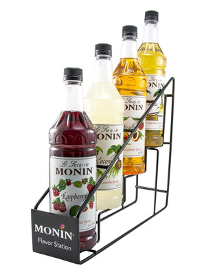Monin 4 Bottle Syrup Rack