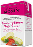 Monin Strawberry Banana Fruit Smoothie Mix