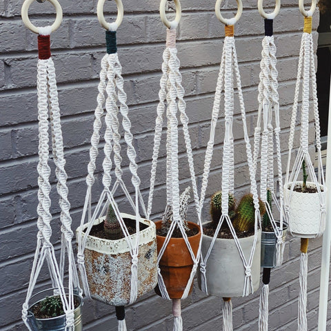 Macrame Plant Hanging Kit