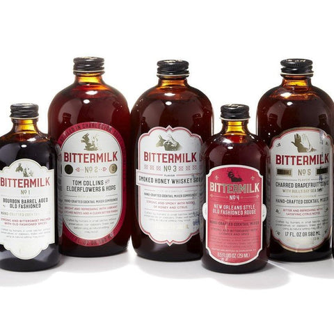 Bittermilk Cocktail Mixer Syrups