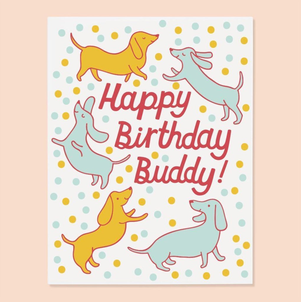 Happy Birthday Buddy Card