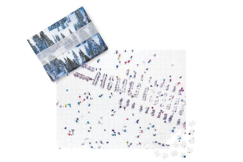 Gray Malin Double-Sided Snowscapes Puzzle